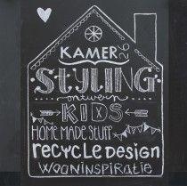 Krijtborden   Anneke Laarakkers Grafisch ontwerp