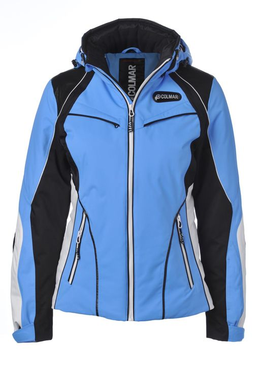 Colmar Womens Ski Jacket Stream Blue Ski Jackets