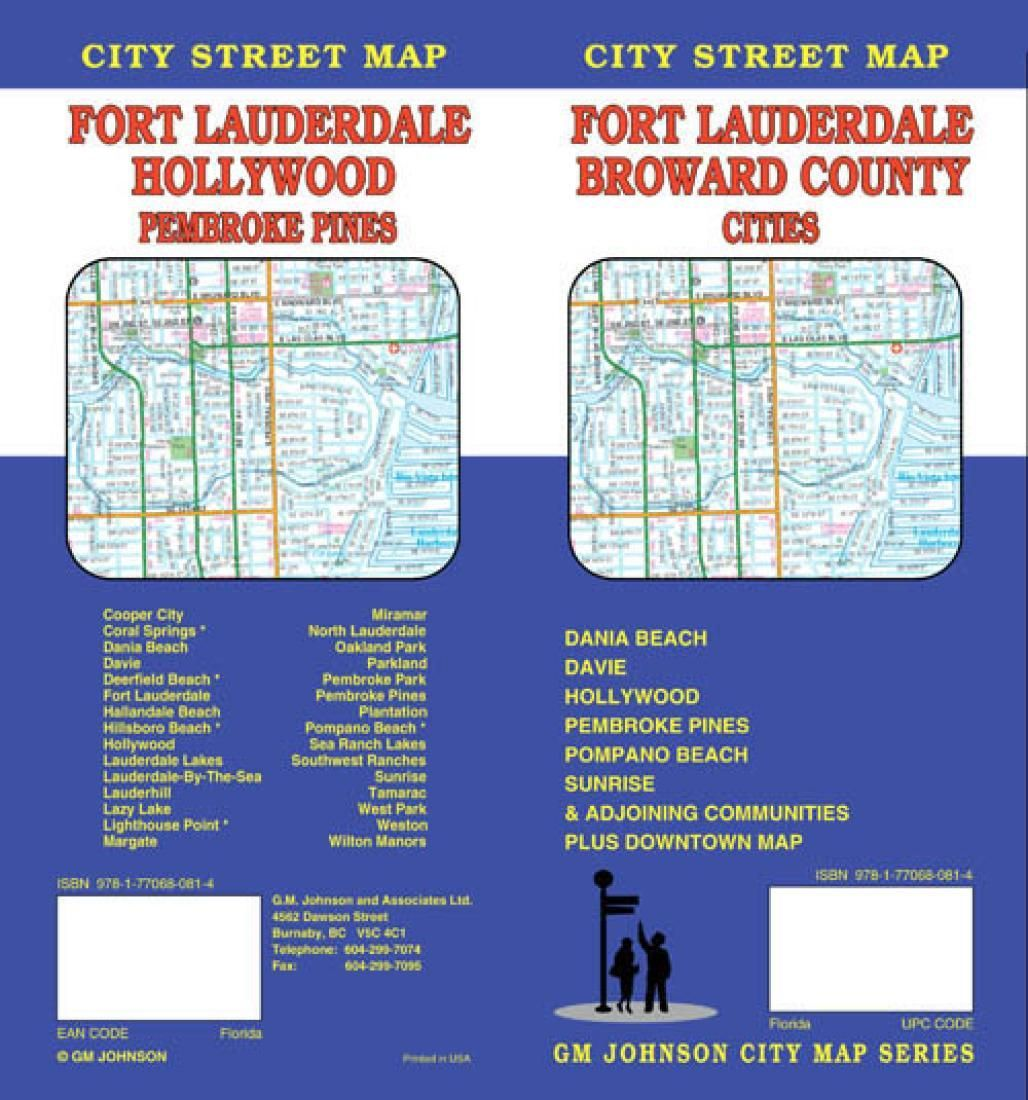 Fort Lauderdale And Broward County Cities Florida By Gm Johnson Fort Lauderdale Broward County Broward