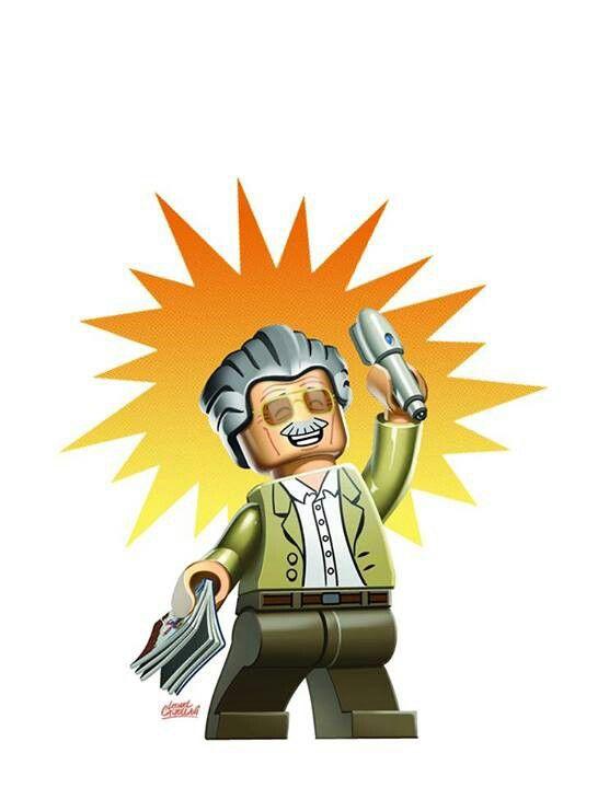 Stan Lee Lego Lego Tattoo Rocket Raccoon Stan Lee
