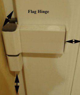 How To Adjust Upvc Door Hinges For Proper Door Alignment Pvc Door Upvc Hinges