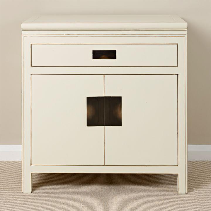 Kitchen Cabinets London Ontario: White Oriental Side Cabinet