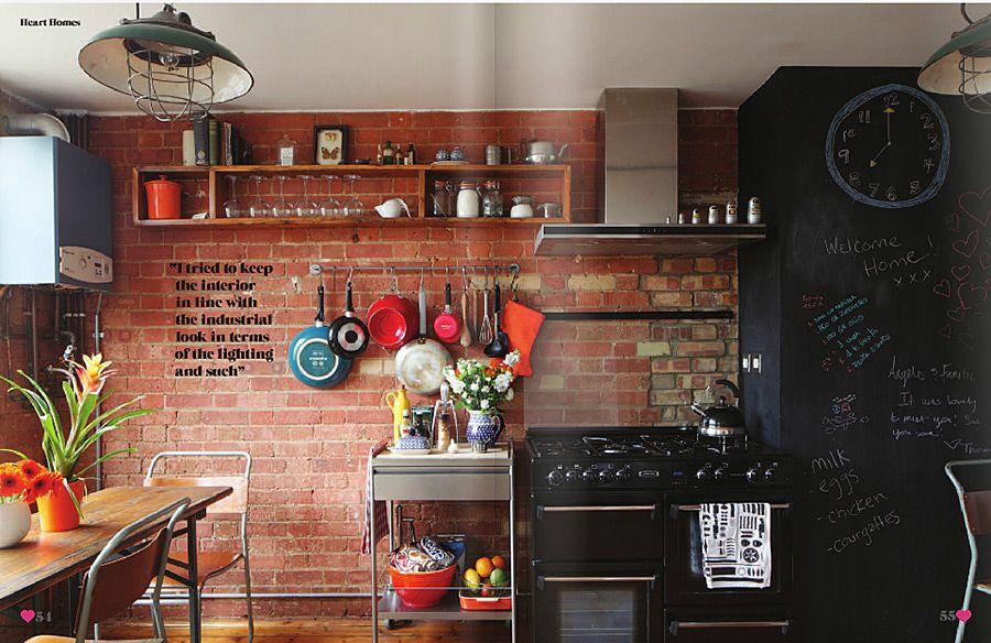 Creative Brick Wall Kitchen Design Ideas | Amazing Interior Design