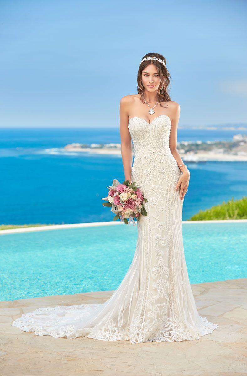 Strapless Sweetheart Neckline Beaded Art Deco Wedding Dress Arletbridal Wedding Wed Wedding Dress Couture Wedding Gown Gallery Lace Sweetheart Wedding Dress