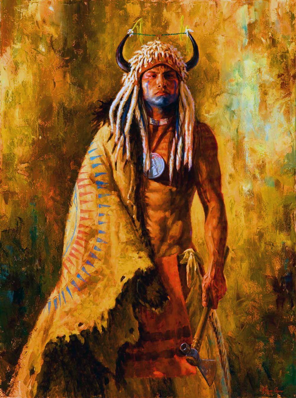 Arikara Peacemaker Native american warrior, American