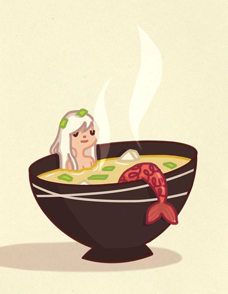 Miso Mermaid by enkana.deviantart.com on @deviantART
