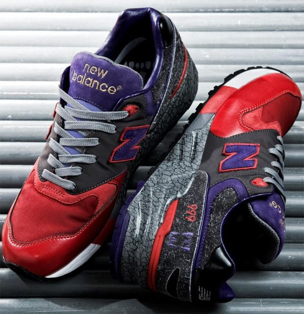 size 40 43d68 8c6d0 New Balance 999 Feral Creation  Grey Purple Red (Singapore inspired design  by Leftfoot)