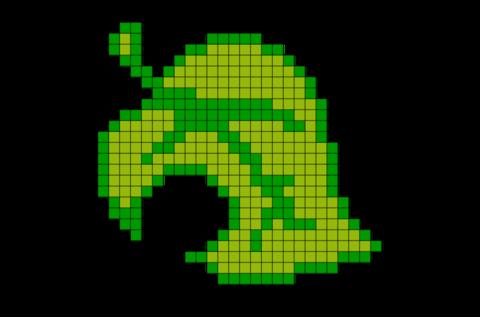 Animal Crossing Leaf Pixel Art Animal Crossing Leaf Pixel