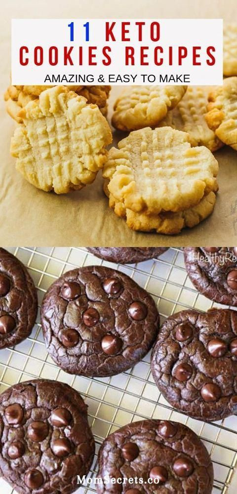 These cookies recipes have delicious flavors. They are easy and quick to make and they are low carb, sugar-free, gluten-free!