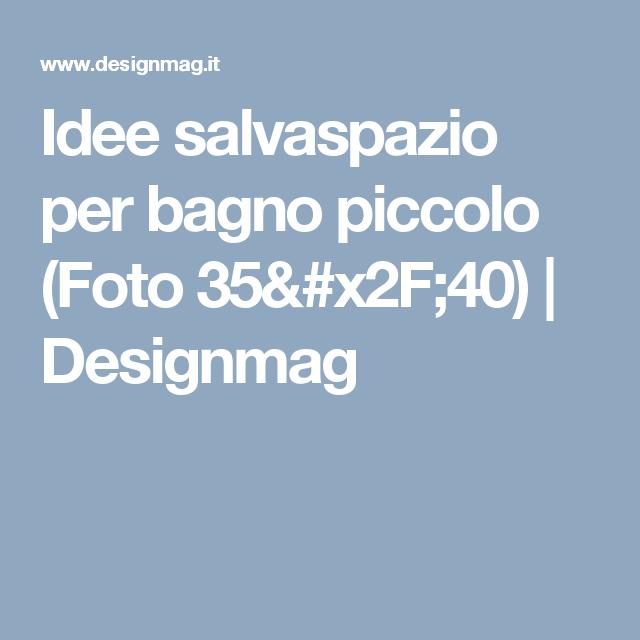 Idee salvaspazio per bagno piccolo   (Foto 35/40) | Designmag