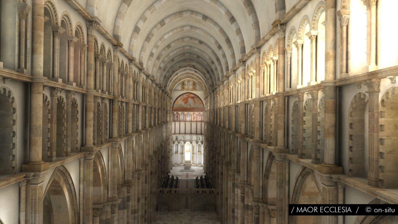 Épinglé par Joseph Winklerter sur Romanik Abbaye