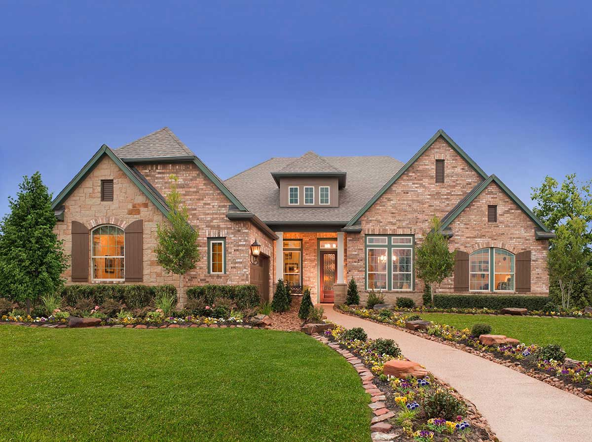 Holcombe C Exterior Home Builders