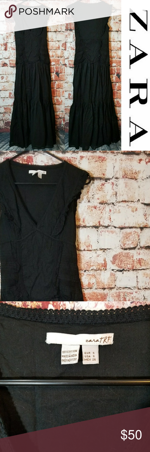 Zara long black boho dress long black zara dresses and boho