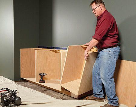 face frame cabinet building tips building construction pinterest
