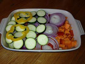 Simple Little Home: Rainbow Veggie Casserole