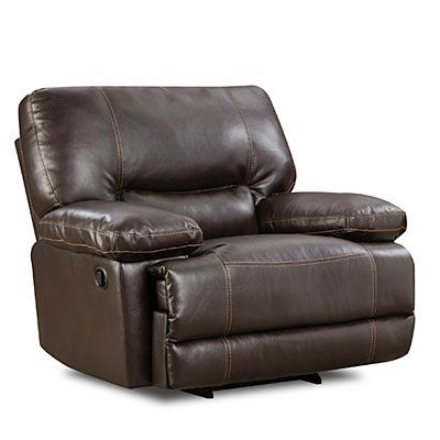 on sale for stratolounger roman chocolate rocking recliner at big lots. Black Bedroom Furniture Sets. Home Design Ideas