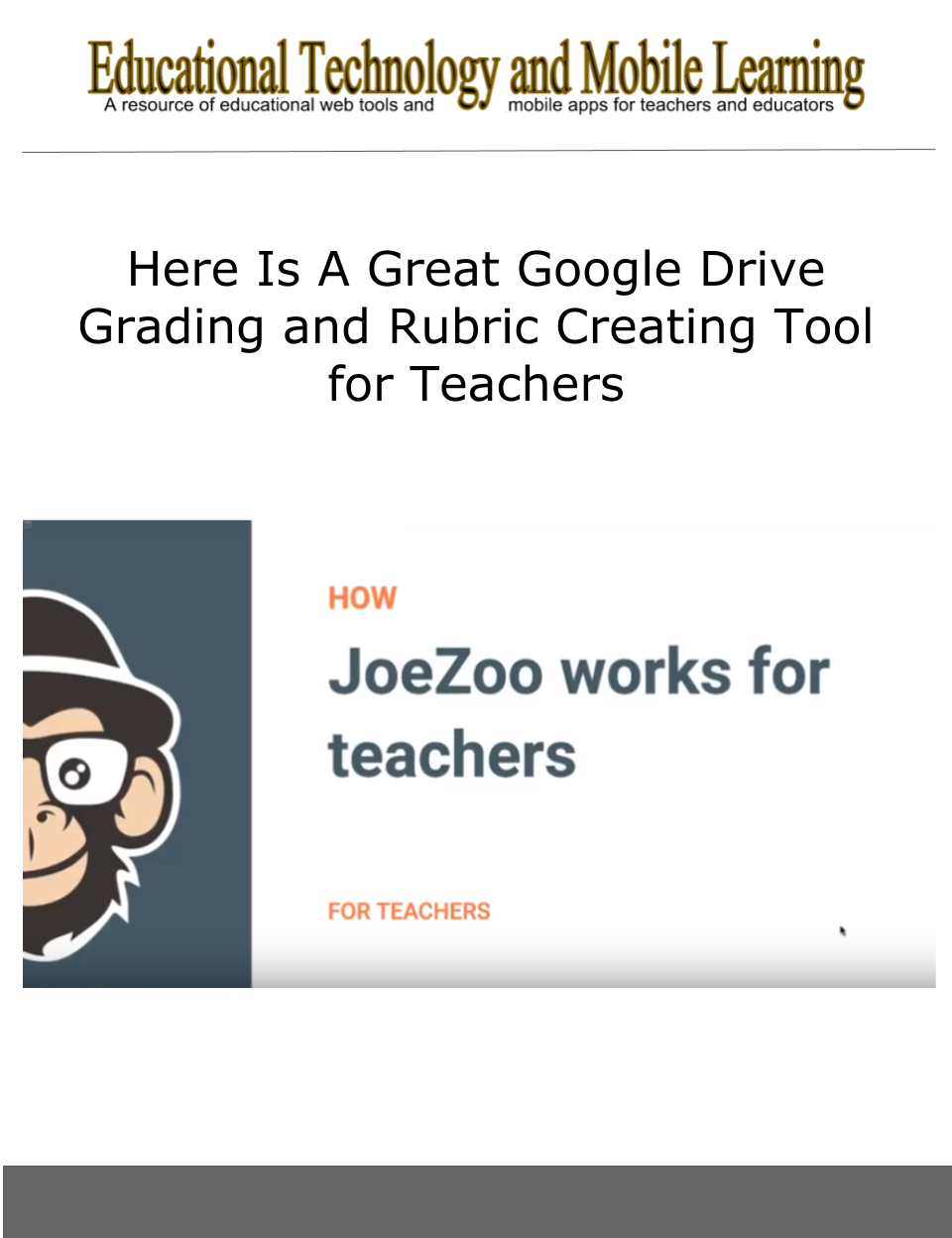 Here is a great google drive grading and rubric creating tool for joezoo express is a good google drive grading tool to use with your students in class it offers a number of interesting features ccuart Gallery