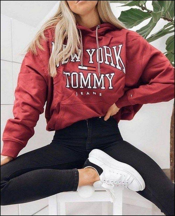 ✔41 Trendige Herbst-Outfit-Ideen für Teenager-Mädchen #teenagegirlclothes