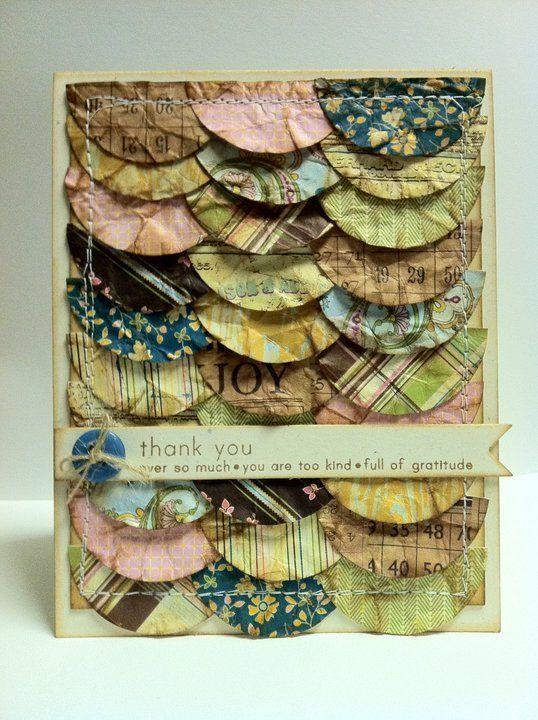 """We love the vintage look of this """"Splendid"""" card by Jennifer Smith Gall #AuthentiquePaper"""