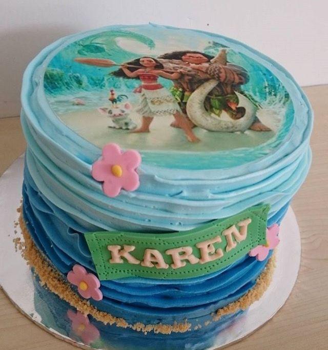 Ovis Torta Moana Birthday Moana Birthday Cake Moana Cake