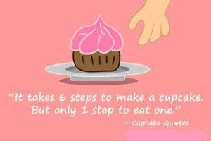It takes 6 steps to make a cupcake. But only one step to eat! See more here @ https://easyway.leadpages.net/ccpinterestinstagram/