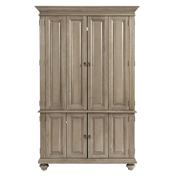 Slim Chadwick Media Armoire | Armoire, Corner media ...