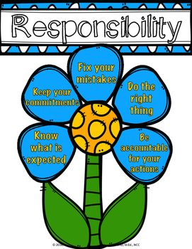 responsibility lesson being responsible counseling classroom