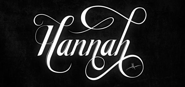 Typography Names By Angel Maldonado Via Behance CalligraphyTypography