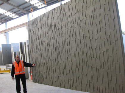 Cast Concrete Wall Tile