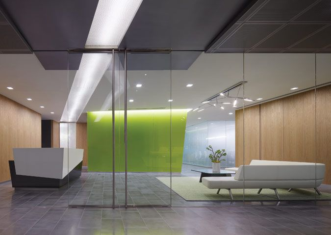 Cool hi tech office lobbies google search ebc for Tech office design
