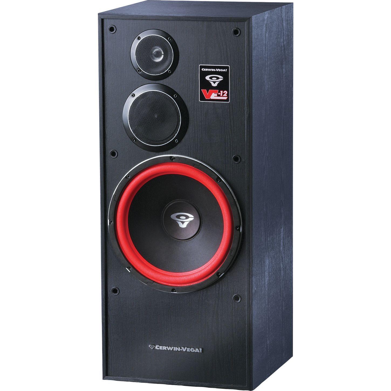 Cerwin vega ve 12f 3 way tower speaker musical for 12 floor speaker