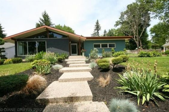 Mid Century Modern House Colors   Choosing paint color for ...