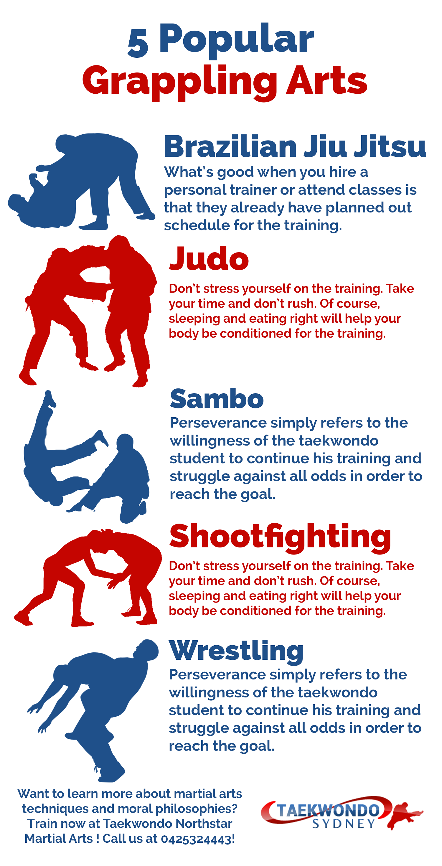 Grappling is a general term that covers variety of techniques used