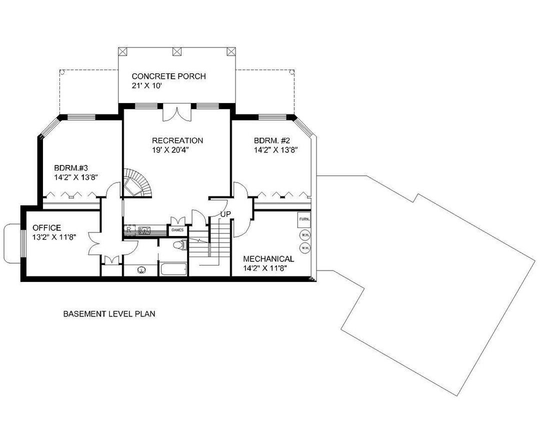 Hpm Home Plans Home Plan 001 2119 House Plans House Floor Plans How To Plan