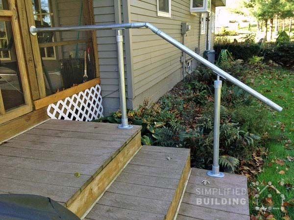 Pin On Handrails Outdoors Free Standing