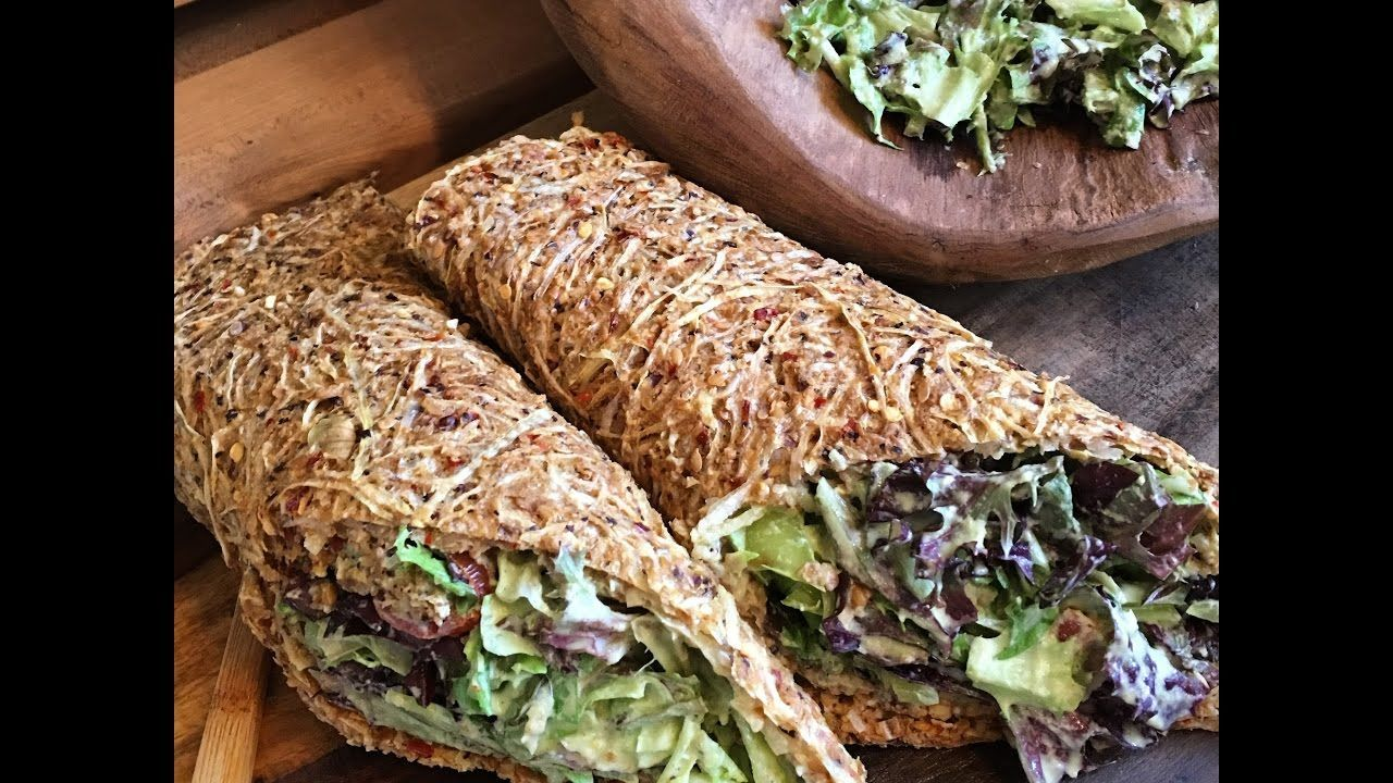 Photo of Raw Vegan Easy Onion Wraps / Crackers …Let's make it together –  Raw Vegan Eas…