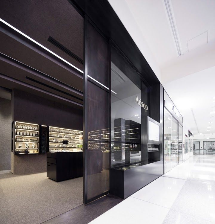 VISUELLE: aesop store by Kerstin Thompson Architects, Canberra – Australia