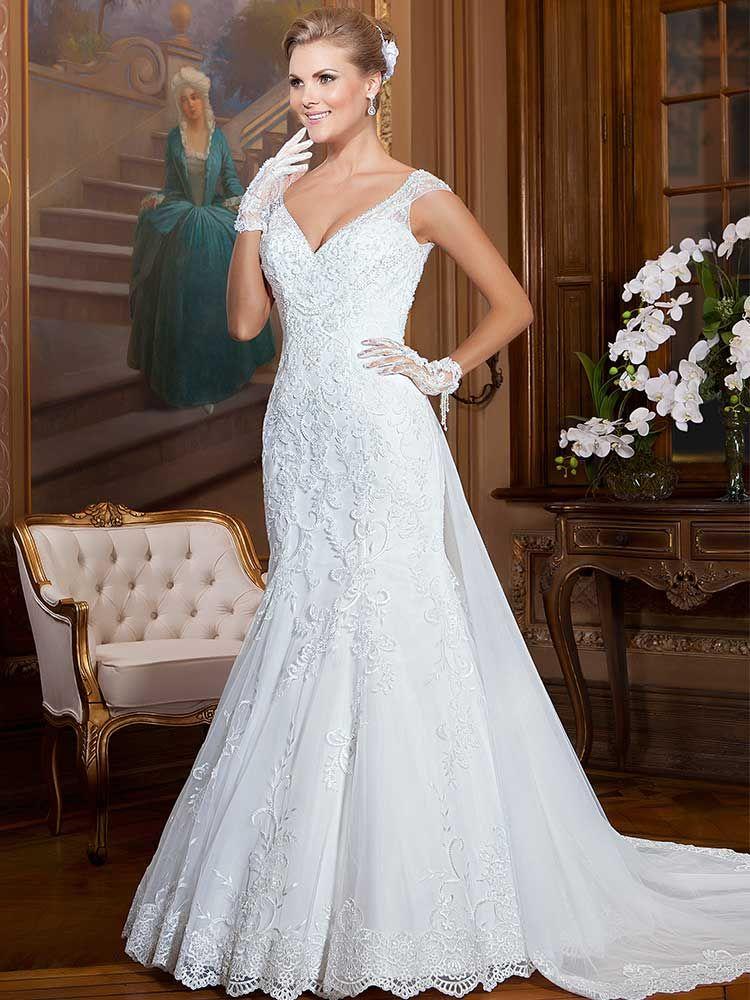 Gardênia 01 - frente #coleçãogardenia #vestidosdenoiva #noiva #weddingdress #bride #bridal #casamento #modanoiva