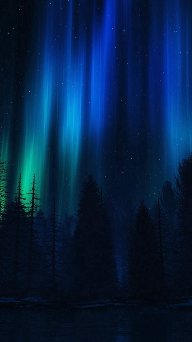 Aurora Night Sky Dark Blue Nature Art Iphone 5s Wallpaper Download Iphone Wallpapers I Iphone Wallpaper Sky Darth Vader Wallpaper Iphone Iphone 5s Wallpaper