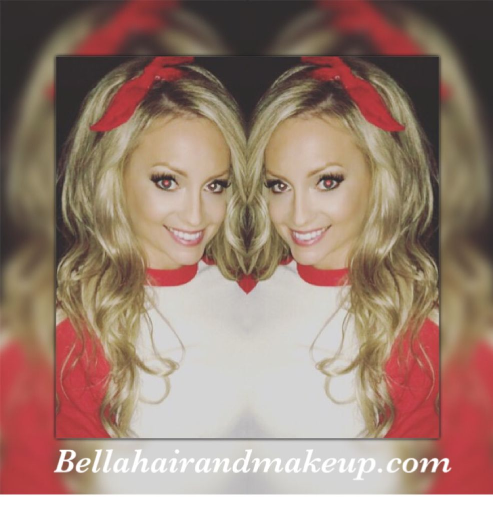 Whitney Renee' Anderson*** #country#girl#hair#bandana#blonde#volume#bellahairandmakeup