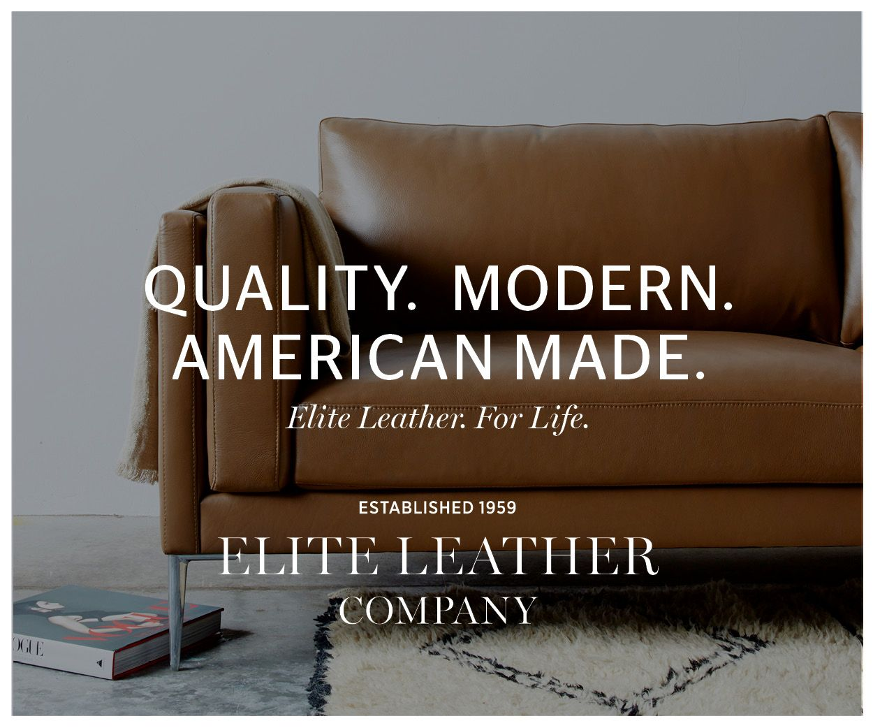 American Made. / Elite Leather Co. / American Custom Made Furniture
