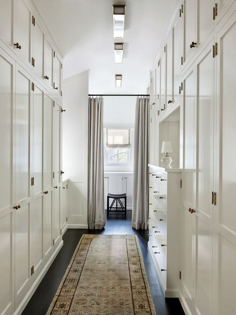 place flush mount lighting in a row to light a heavy or dark hallway | flush mount lighting roundup on coco kelley