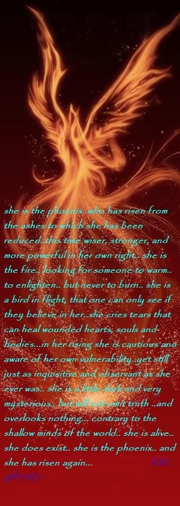 The Phoenix... Wrote This A Couple Years Ago :)