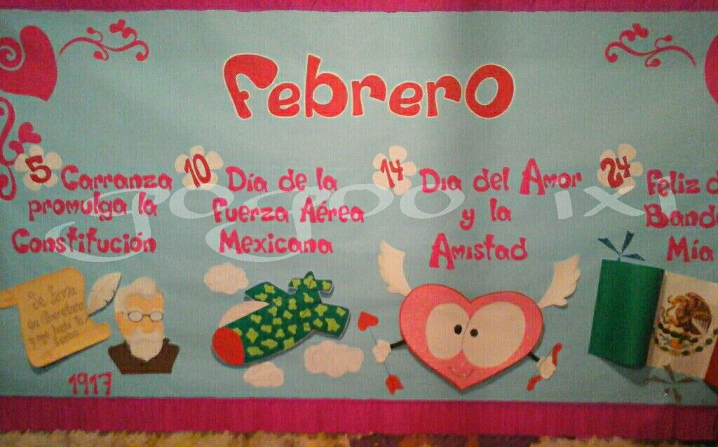 Periodico mural febrero Murales