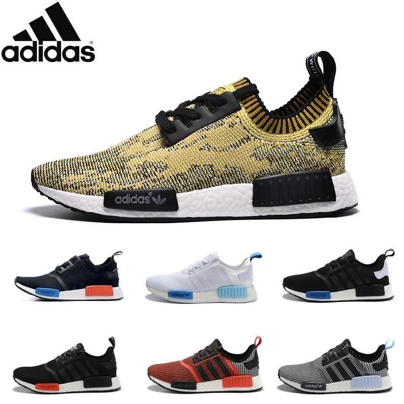 2016 Adidas Originals Nmd R1 Primeknit Pk 2016 Top Quality Shoes Nmd Mens  Womens Athletic Running