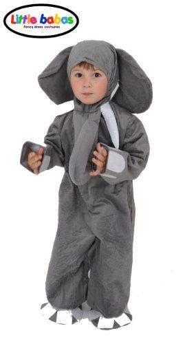 KIDS ELEPHANT FANCY DRESS COSTUME