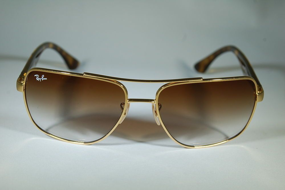 1ea9782cf9 ... czech ray ban 3483 001 51 60 16 gold tortoise light brown gradient  cdc5c 32acb