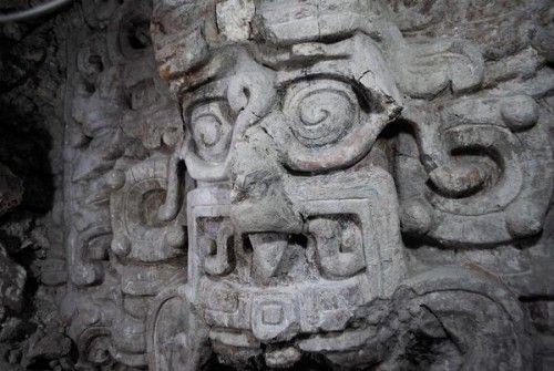 El Arca del Misterio: Caras gigantes en un Nuevo descubrimiento Maya