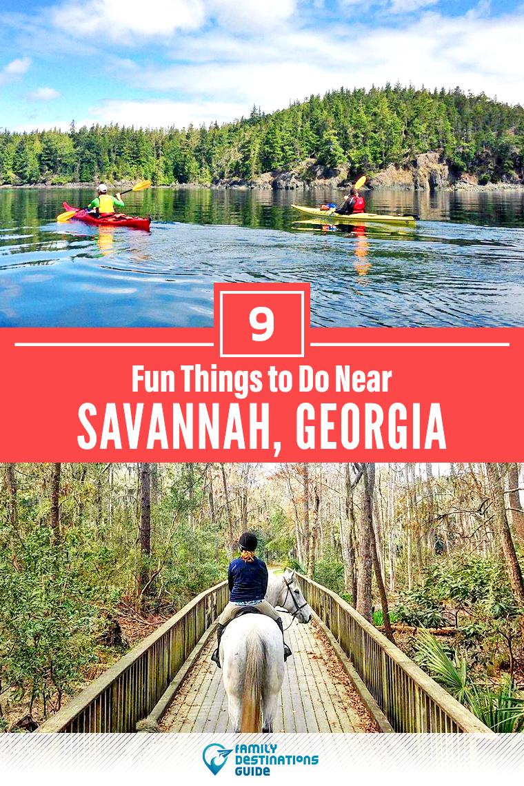9 Fun Things To Do Near Savannah Georgia Cool Places To Visit Fun Places To Go Places To Visit