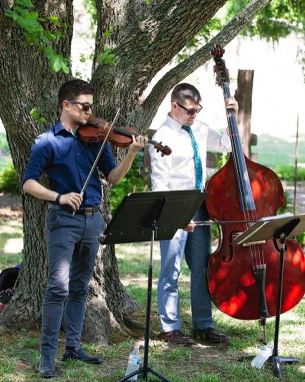 Acoustic weddings are no problem with classical stringed